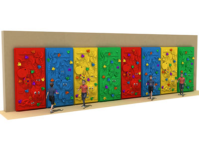 Outdoor Climbing Frame Set for Preschool Kids PQ-005